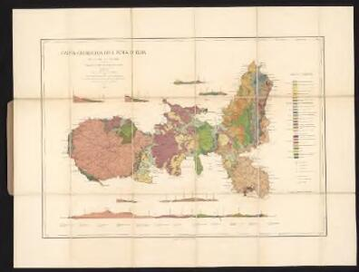 Carta geologica dell'Isola d'Elba