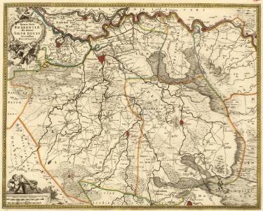 Quartae Brabantiae seu Ditionis Silvae Ducis Accuratißima Delineatio