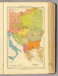 16 bis. Europa etnografica.