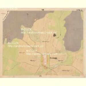 Pernek - c5699-1-007 - Kaiserpflichtexemplar der Landkarten des stabilen Katasters