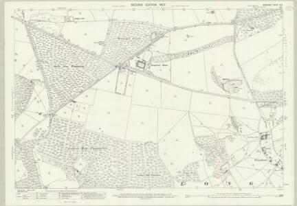 Somerset V.8 (includes: Abbots Leigh; Long Ashton; Wraxall) - 25 Inch Map