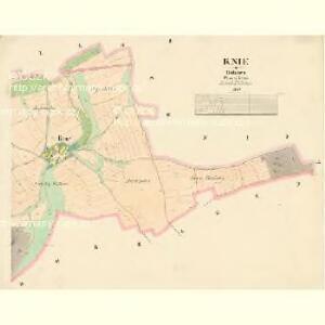 Knie - c3209-1-002 - Kaiserpflichtexemplar der Landkarten des stabilen Katasters