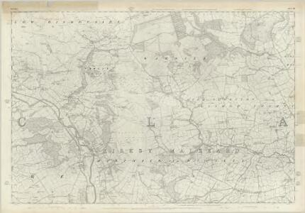 Yorkshire 136 - OS Six-Inch Map