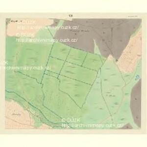 Borkowitz - c0380-1-006 - Kaiserpflichtexemplar der Landkarten des stabilen Katasters