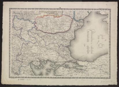 Voenno-dorožnaja karta časti Rossii i pograničnych zemelʹ