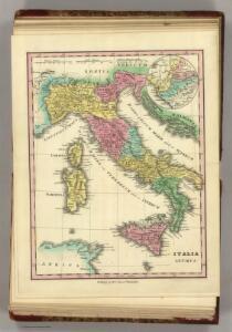 Italia Antiqua.  (1826)