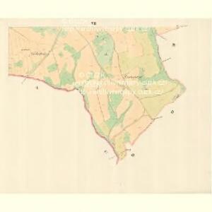 Petersdorf (Petrowice) - m0900-1-007 - Kaiserpflichtexemplar der Landkarten des stabilen Katasters
