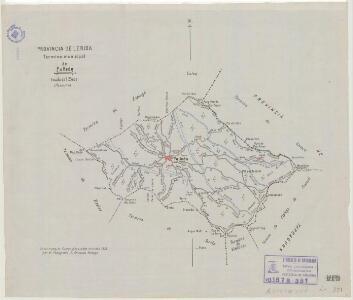 Mapa planimètric de Fulleda