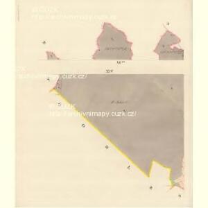Dittersdorf (Getrzichow) - m0441-1-013 - Kaiserpflichtexemplar der Landkarten des stabilen Katasters