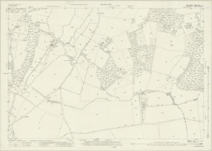 Berkshire XLI.7 (includes: Hungerford; Inkpen; Shalbourne) - 25 Inch Map