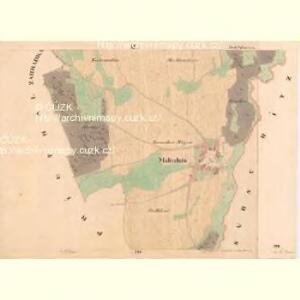 Maltschitz - c4385-1-002 - Kaiserpflichtexemplar der Landkarten des stabilen Katasters