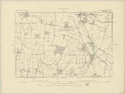 Somerset LXXXII.NE - OS Six-Inch Map