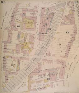 Insurance Plan of London South West District Vol. K: sheet 6