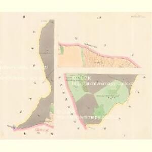 Gross Temelin (Welky Temelin) - c7855-1-001 - Kaiserpflichtexemplar der Landkarten des stabilen Katasters