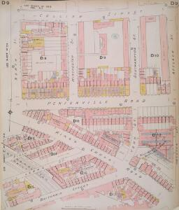 Insurance Plan of London North North West District Vol. D: sheet 9