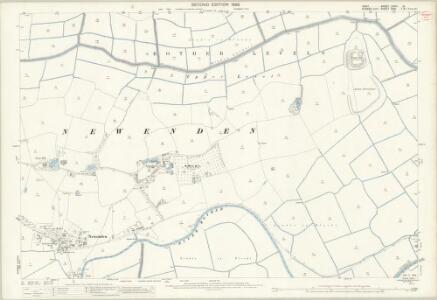 Kent LXXIX.10 (includes: Beckley; Newenden; Northiam; Rolvenden) - 25 Inch Map