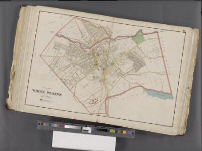 Westchester, Double Page Plate No. 18 [Map bounded by Greenburg, North Castle, Harrison, White Plains] / prepared under the direction of Joseph R. Bien, from general surveys and official records.