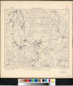 Meßtischblatt 3581 : Saar- Buckenheim, 1917