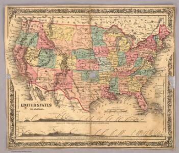 Index Map: United States of America.