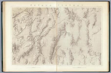 Nevada Plateau. (Topographical)