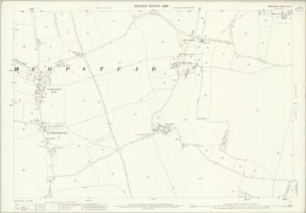Berkshire XXVI.12 (includes: Boxford; Chieveley; Leckhampstead; Peasemore) - 25 Inch Map