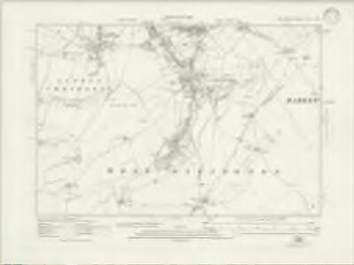 Wiltshire XLVI.NW - OS Six-Inch Map