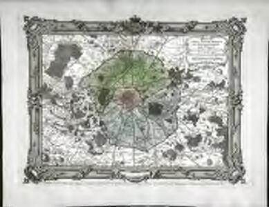 Carte topographique du département de Paris