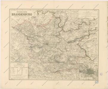 Die Preussische Provinz Brandenburg