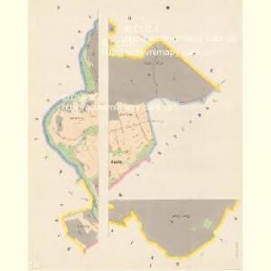 Saufloss (Sauwlasneg) - c7157-1-001 - Kaiserpflichtexemplar der Landkarten des stabilen Katasters