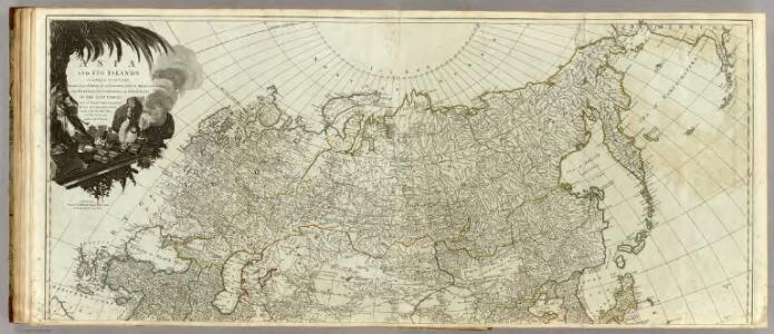 Asia and its islands according to d'Anville (northern section)