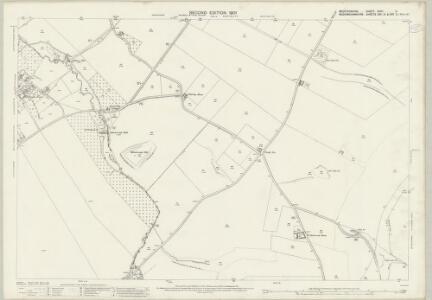 Bedfordshire XXXII.9 (includes: Eaton Bray; Edlesborough; Whipsnade) - 25 Inch Map