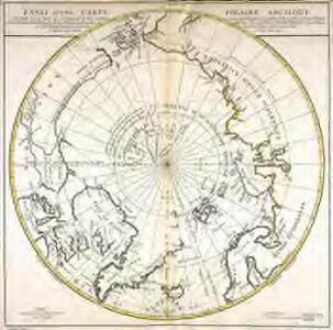 Essai d'une carte polaire arctique