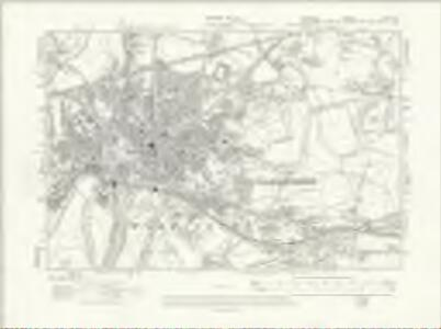 Cheshire XVI.NE - OS Six-Inch Map