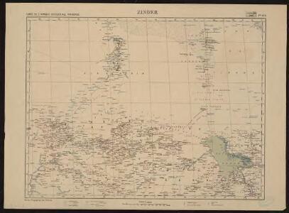 Carte de l'Afrique occidentale française. Zinder