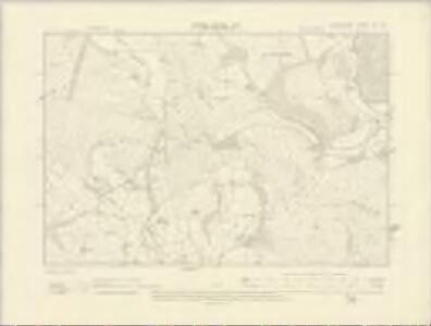 Radnorshire XV.NE - OS Six-Inch Map