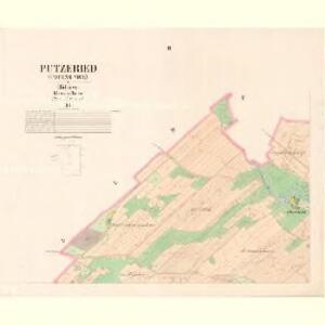 Putzeriet (Pocinovice) - c5861-1-002 - Kaiserpflichtexemplar der Landkarten des stabilen Katasters