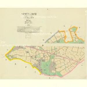 Schönbach - c3515-3-001 - Kaiserpflichtexemplar der Landkarten des stabilen Katasters