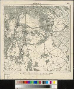 Meßtischblatt 1908 : Schöneberg, 1919