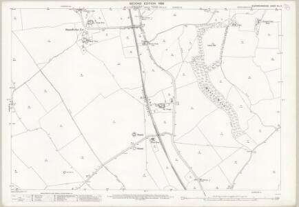 Buckinghamshire XLI.3 (includes: Bledlow cum Saunderton; Bradenham; Lacey Green) - 25 Inch Map