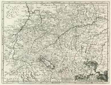 Suevia Neue Land-Tafel des Gantzen Schwäbischen Krayses