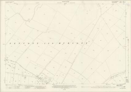 Oxfordshire XXVIII.6 (includes: Arncott; Boarstall; Fencott and Murcott; Merton) - 25 Inch Map