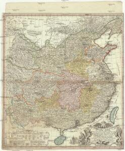 Regni Sinae vel Sinae propriae mappa et descriptio geographica