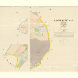 Schinkau (Žinkow) - c9444-1-003 - Kaiserpflichtexemplar der Landkarten des stabilen Katasters