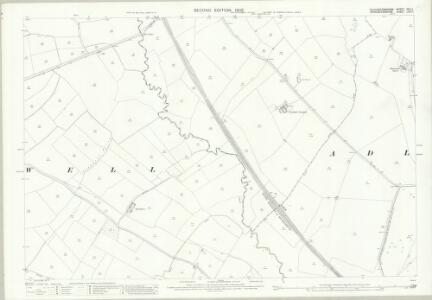 Gloucestershire XXII.11 (includes: Adlestrop; Broadwell; Evenlode; Oddington) - 25 Inch Map