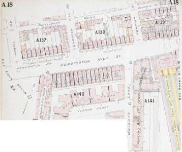 Insurance Plan of London Western District Vol. A: sheet 18-1