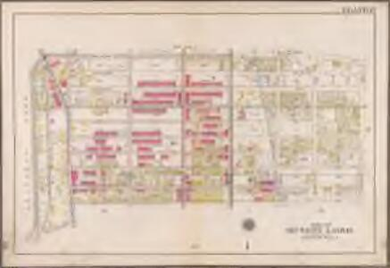 Plate 17: [Bounded by Malbone Street, Kingston Avenue, Winthrop Street, Flatbush Avenue, Parkside Avenue and (Prospect Park) Ocean Avenue.]; Atlas of the borough of Brooklyn, city of New York: from actual surveys and official plans by George W. and Walter S. Bromley.