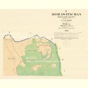 Morawitschan (Morawitschany) - m1854-1-002 - Kaiserpflichtexemplar der Landkarten des stabilen Katasters