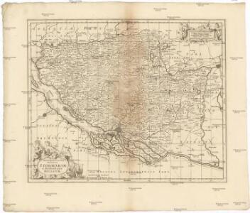 Tabula geographica novissima ducatus Stormariae in meridionali parte Holsatiae