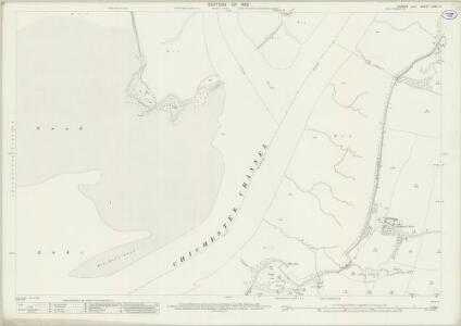 Sussex LXXII.3 (includes: Chidham; West Itchenor; West Thorney; West Wittering) - 25 Inch Map