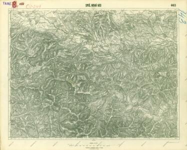 III. vojenské mapování 4465